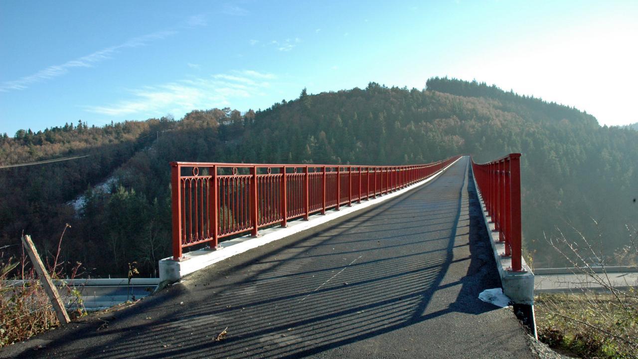 Sur le pont on...... s'y promène....