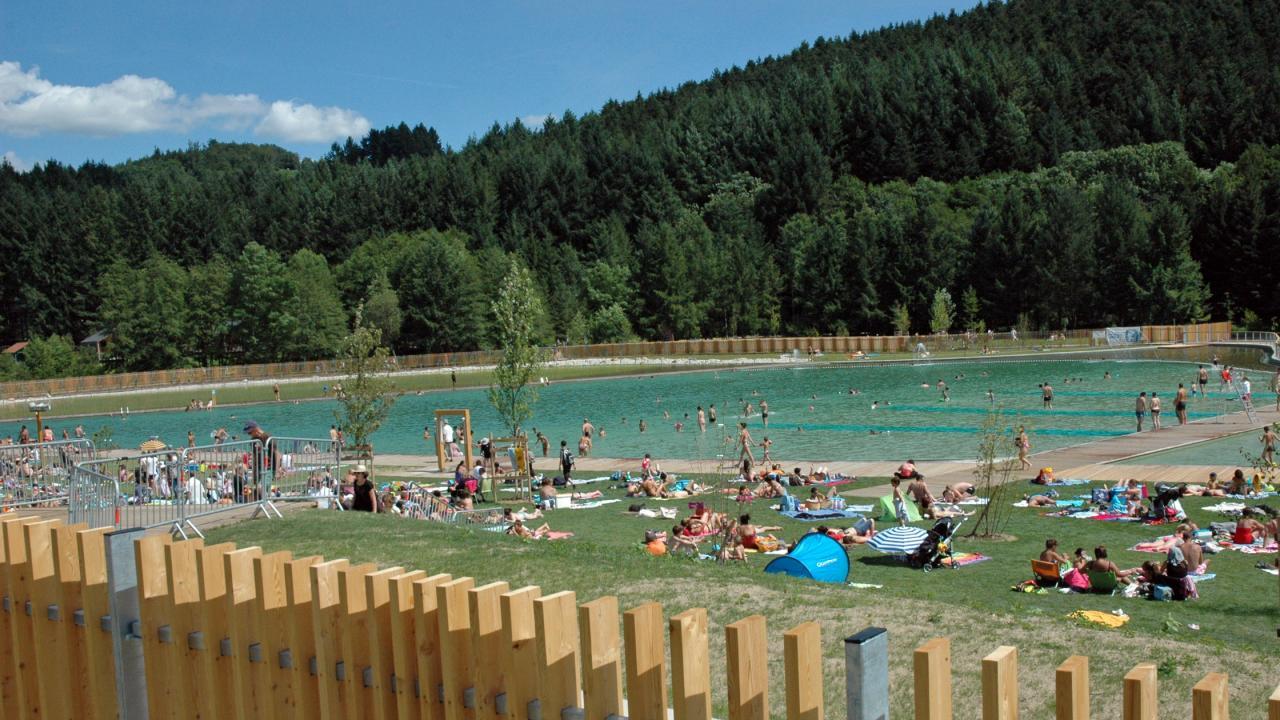 1- Baignade au lac des sapins