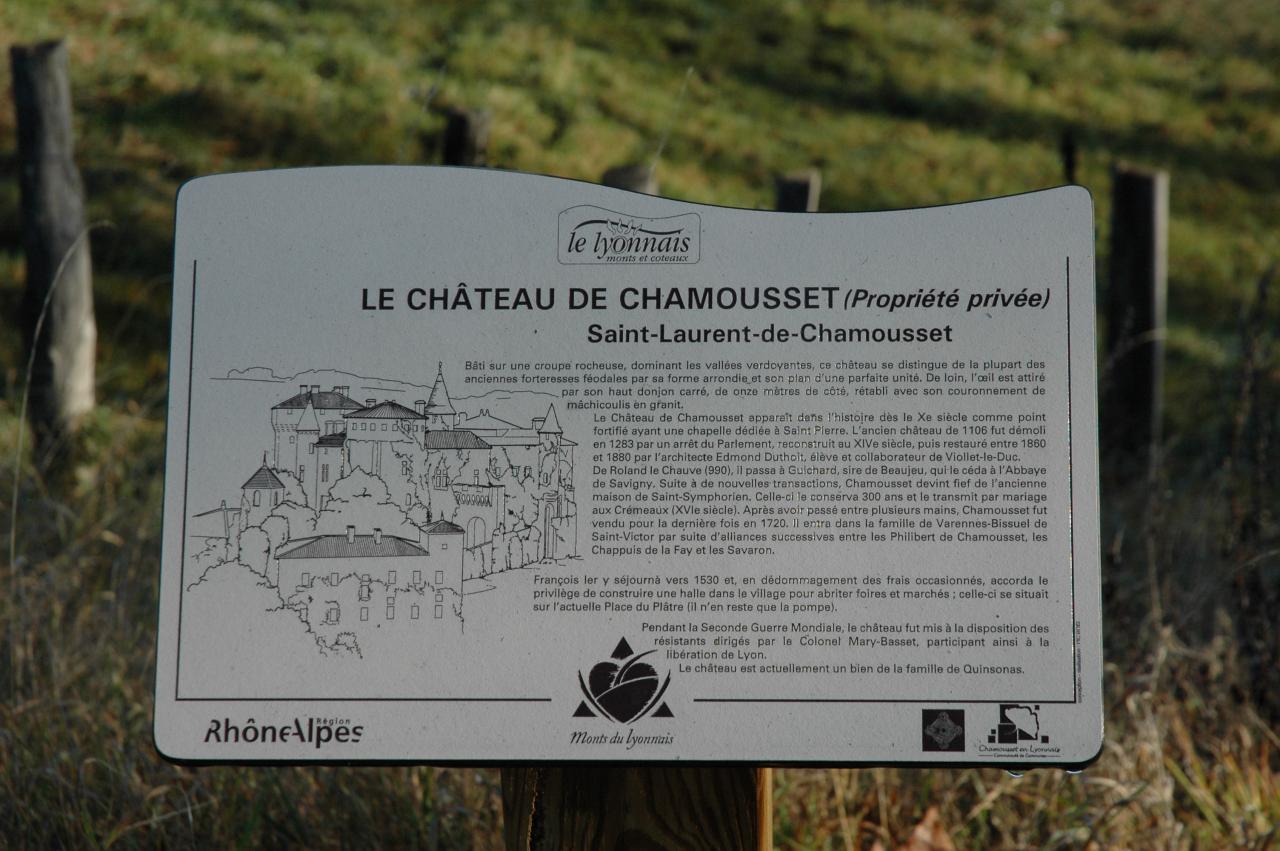 Chateau de Chamousset (OT)