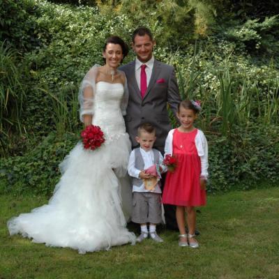 Emilie et Jérome et leurs enfants
