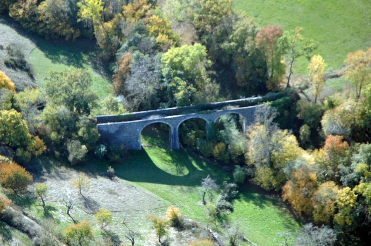 Viaduc de Bibost (1910) inachevé