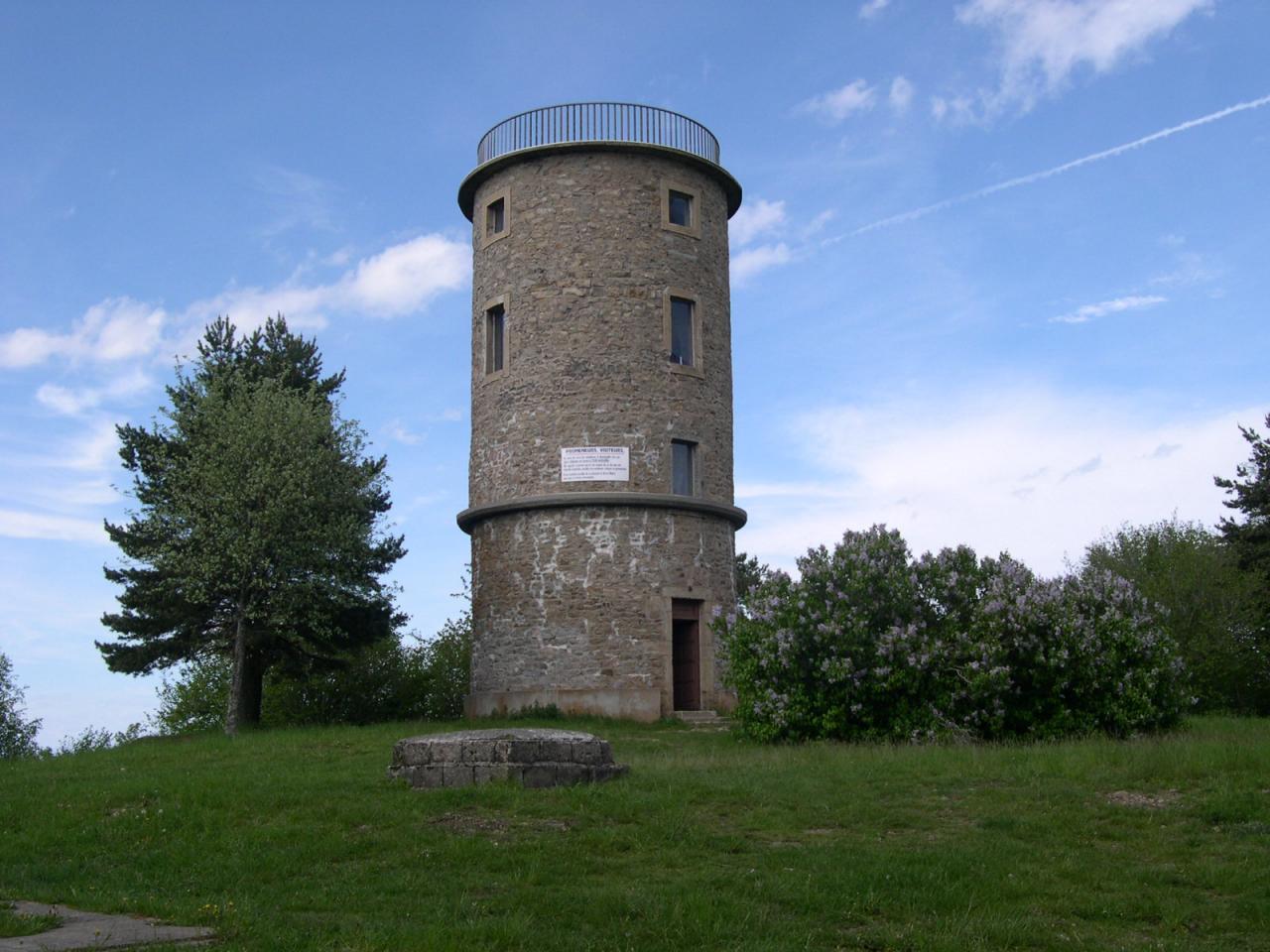 La tour  Matagrin, retrouvez la rubrique lieux de pique-niques,..