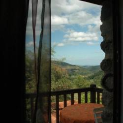 Belle vue de la terrasse