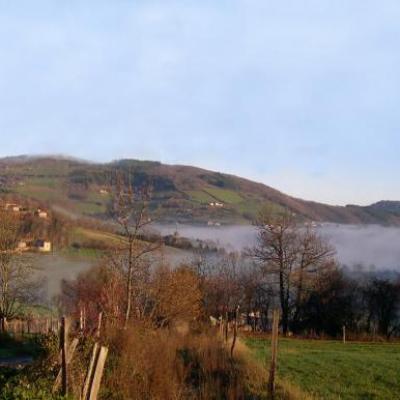 Monts du Lyonnais Inversion Thermique