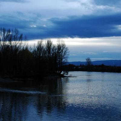 Orage sur la Loire