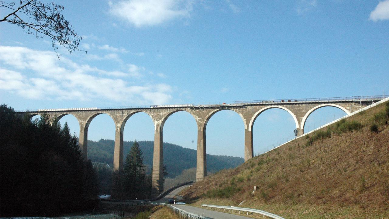 Le Pont Marteau 360m de long