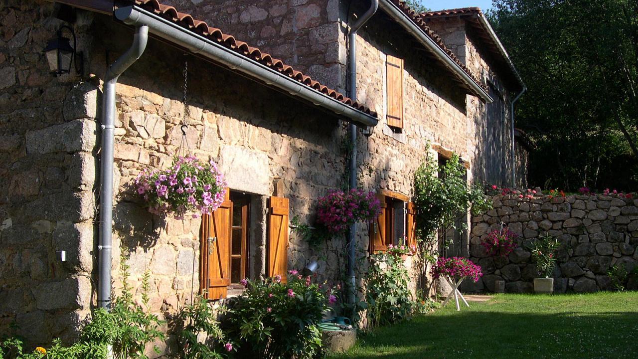 La maison coté jardin